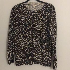J Crew Leopard Sweater